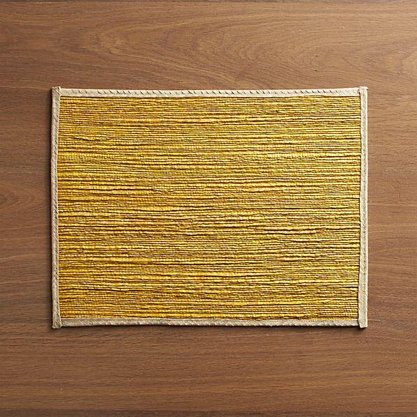 Veracruz Goldenrod Placemat