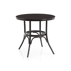 Vienna Black Bistro Table