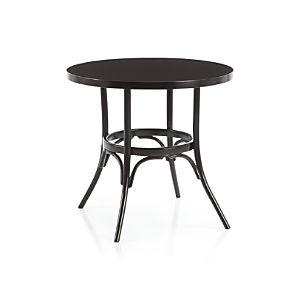 Vienna Black Bistro Table