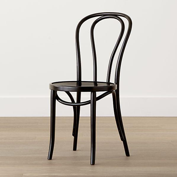 Vienna Black Side Chair
