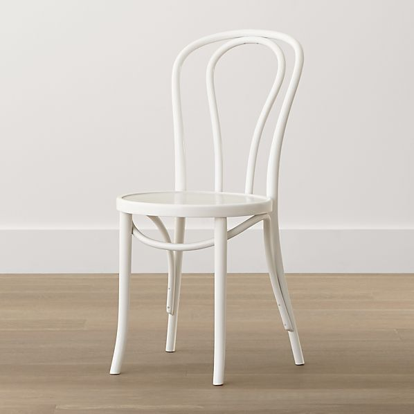 Vienna White Side Chair