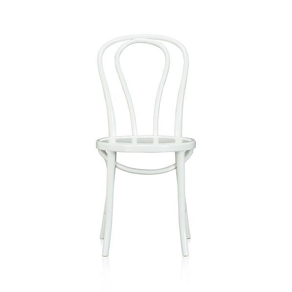 Vienna White Side Chair