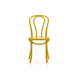 Vienna Yellow Side Chair