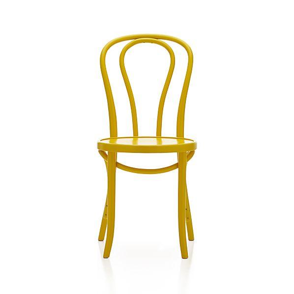 Vienna Yellow Side Chair