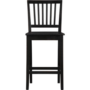 Village Black 24 Counter Stool