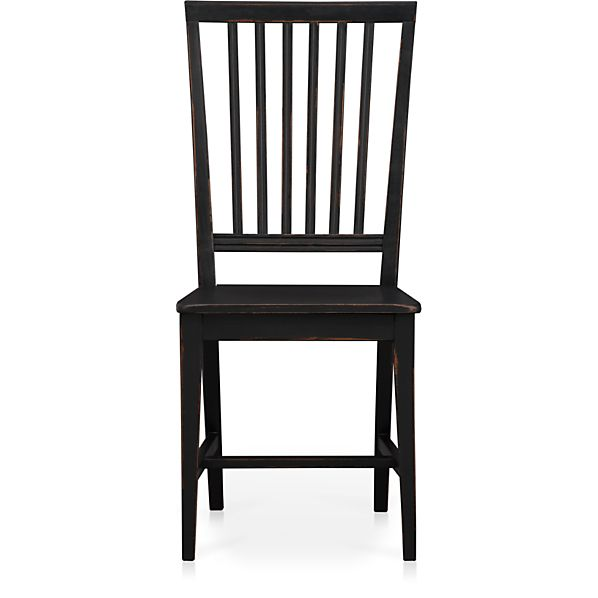 Village Black Side Chair