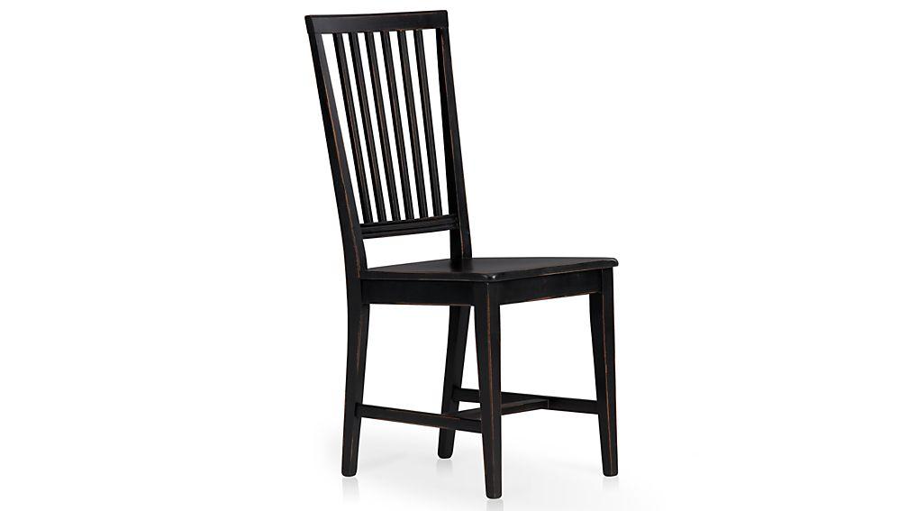 Village Black Side Chair