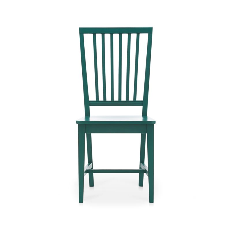teal side chair crate and barrel