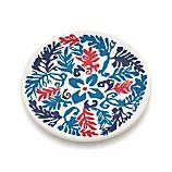 "Vinca Blue 6.75"" Melamine Plate"