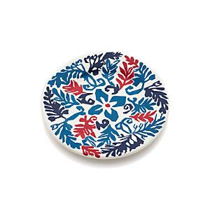 "Vinca Blue 8.5"" Melamine Plate"