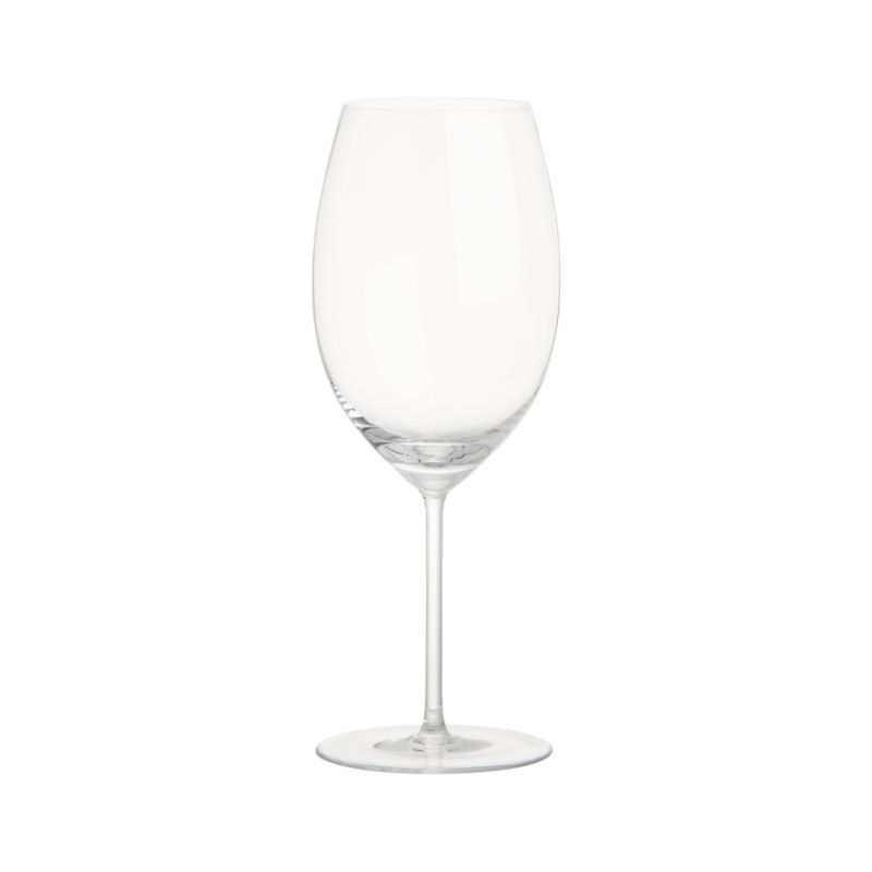 This elegant stemware features oversized proportions that really let big wines breathe. Wine connoisseurs will appreciate this nicely weighted Cabernet glass, true to the classic shape with slender stem and generous bowl.<br /><br /><NEWTAG/><ul><li>Handmade</li><li>Hand washing recommended</li><li>Made in Czech Republic</li></ul><br /><br />