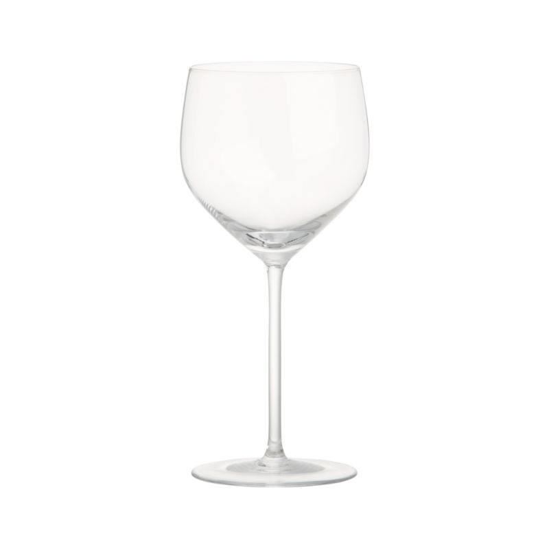 Great wines deserve the right glass to bring out their distinct aromas and tastes. Our Vineyard wine glass collection offers a suite of glasses, each crafted with specially shaped bowls to enhance the enjoyment of wines. The U-shaped profile and rounded bowl of the Chardonnay glass calls out the velvety texture of fuller white wines while keeping them properly chilled. Each elegantly shaped glass is handcrafted by highly skilled European glassmakers.<br /><br /><NEWTAG/><ul><li>Handcrafted</li><li>Glass</li><li>Hand wash</li><li>Made in Czech Republic</l