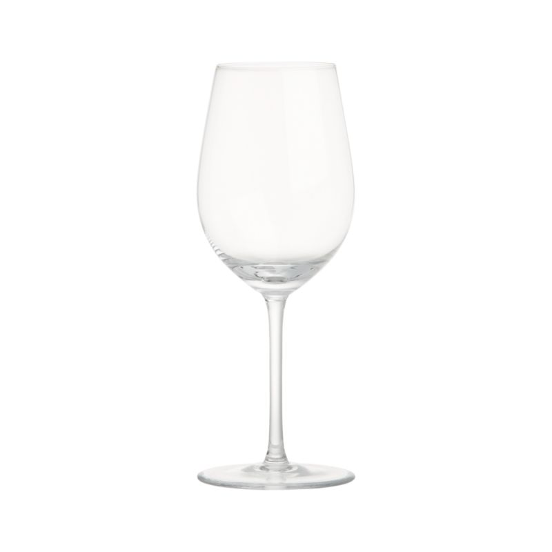 Great wines deserve the right glass to bring out their distinct aromas and tastes. Our Vineyard wine glass collection offers a suite of glasses, each crafted with specially shaped bowls to enhance enjoyment of white, red and sparkling wines. The classic tulip shape of the Viognier glass promotes the crisp nature of young white wines while keeping them properly chilled. Each elegantly shaped glass is handcrafted by highly skilled European glassmakers.<br /><br /><NEWTAG/><ul><li>Handcrafted</li><li>Glass</li><li>Hand wash</li><li>Made in Czech Republic</li
