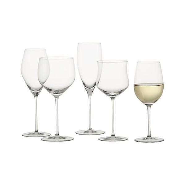 Vineyard White Wine Glasses Crate And Barrel