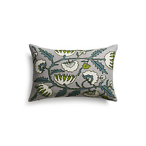 "Vinova 20""x13"" Pillow with Feather-Down Insert"