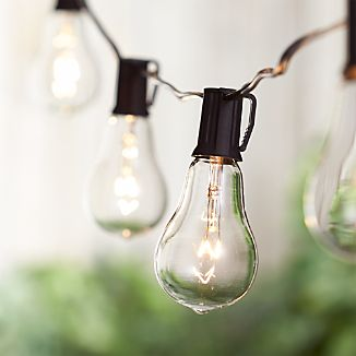 Vintage Bulb String Lights