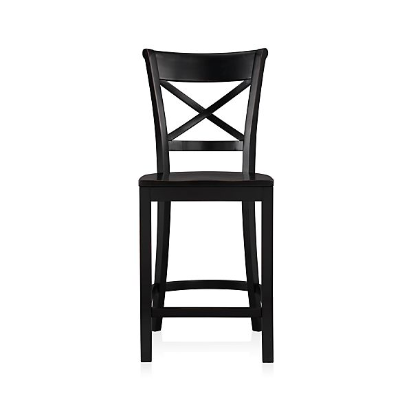 "Vintner 24"" Black Bar Stool"