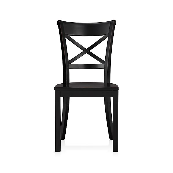 Vintner Black Wood Dining Chair In Dining Chairs Crate