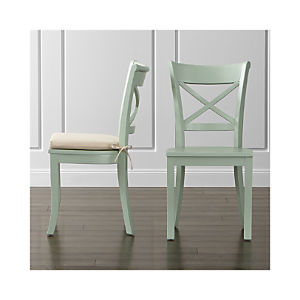 Vintner Mint Side Chair and Cushion