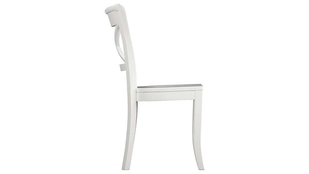 Vintner White Wood Dining Chair