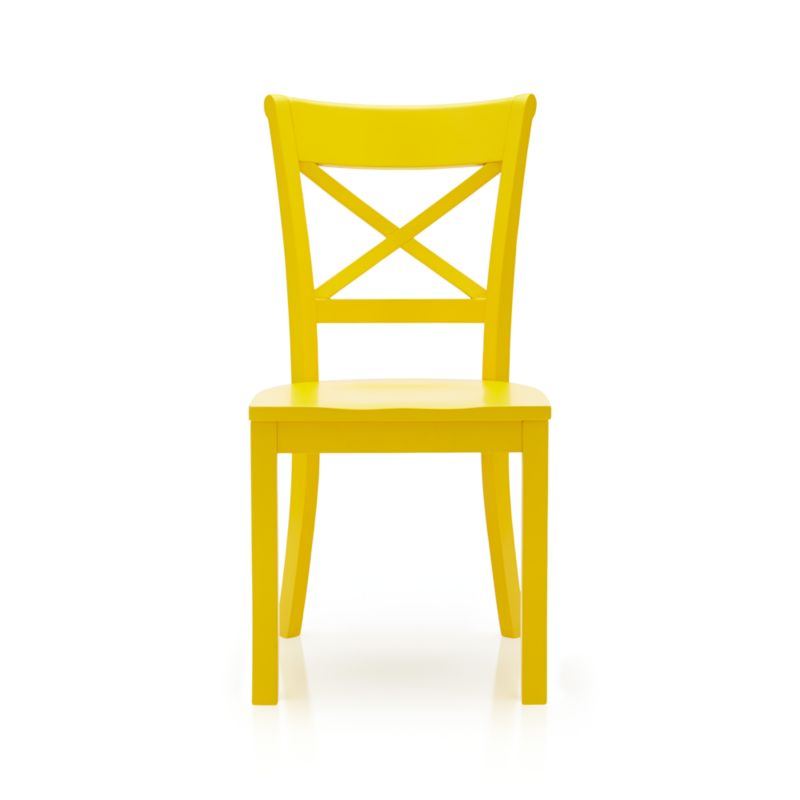 vintner side chair yellow crate and barrel