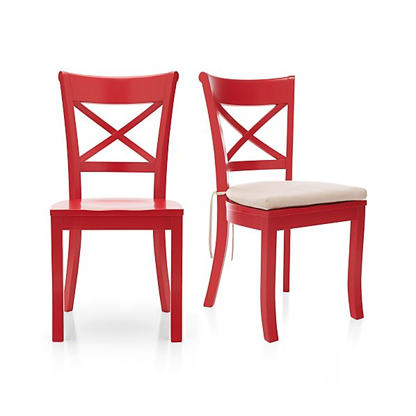 Vintner Red Side Chair and Cushion
