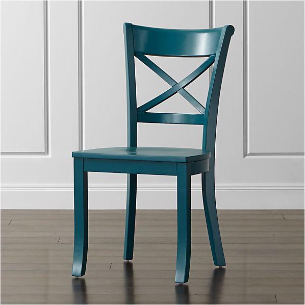 Vintner Peacock Side Chair