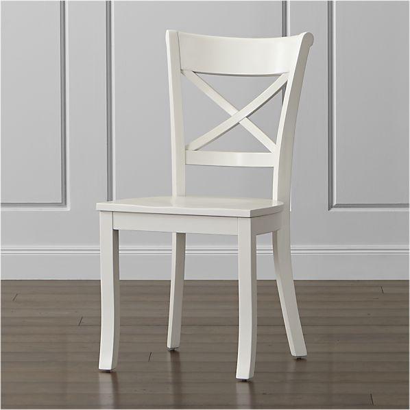 Vintner White Side Chair