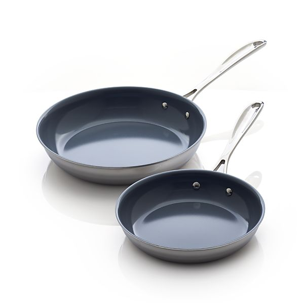 2-Piece ZWILLING® J.A. Henckels VistaClad Ceramic Nonstick Frypan Set