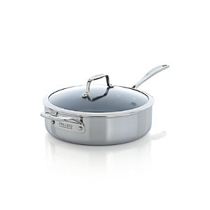 ZWILLING® J.A. Henckels VistaClad Ceramic Nonstick 5 qt. Sauté Pan with Lid