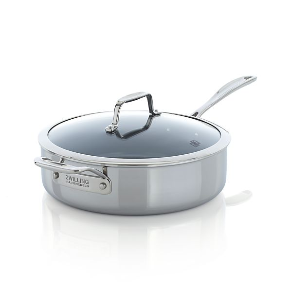 ZWILLING ® J.A. Henckels VistaClad Ceramic Nonstick 5 qt. Sauté Pan with Lid