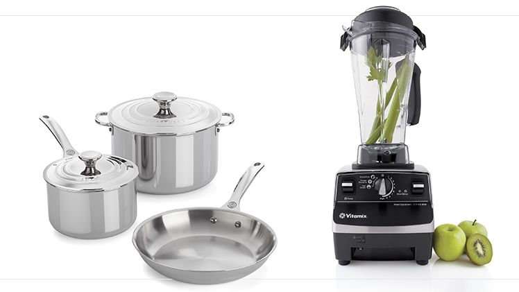 Cookware and blender