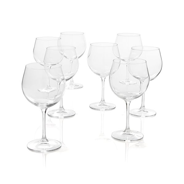 Viv Red Wine Glasses Set of Eight