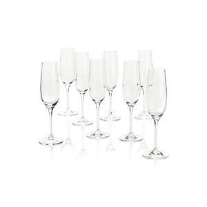 Viv Sparkling Wine Glasses Set of Eight
