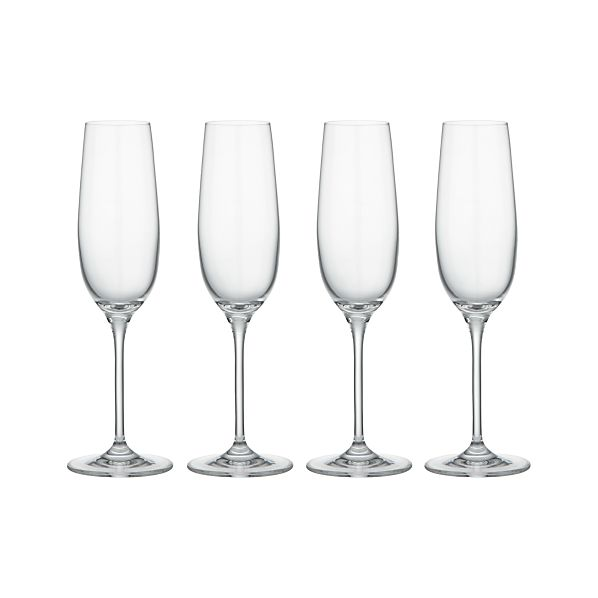 Set of 4 Viv Sparkling Wine