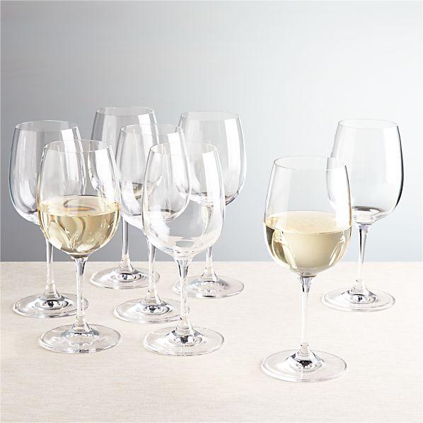 Set of 8 Viv White Wine Glasses
