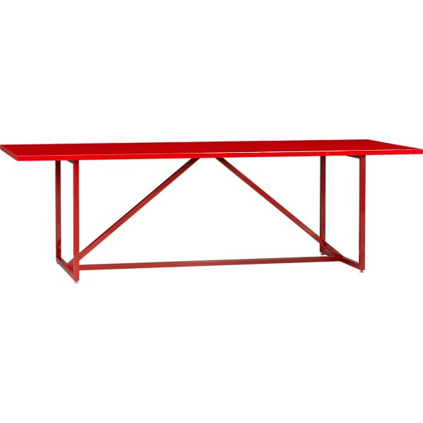 "Walker II Cherry 95"" Dining Table"