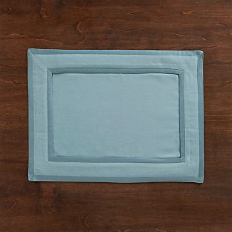Walker Smoke Blue Placemat