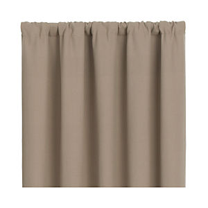 Wallace Brindle 52x63 Curtain Panel