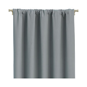 "Wallace Grey 52""x96"" Curtain Panel"