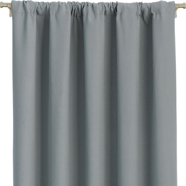 "Wallace Grey 52""x63"" Curtain Panel"