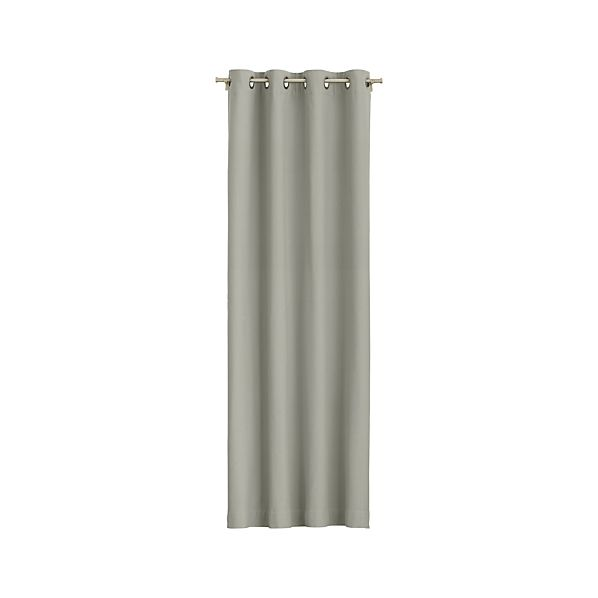 Wallace Grey Grommet Curtain Panels