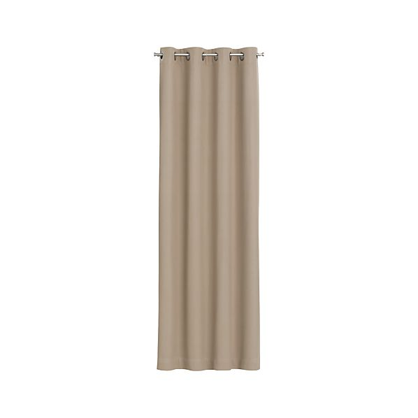 Wallace Brindle Grommet Curtain Panels