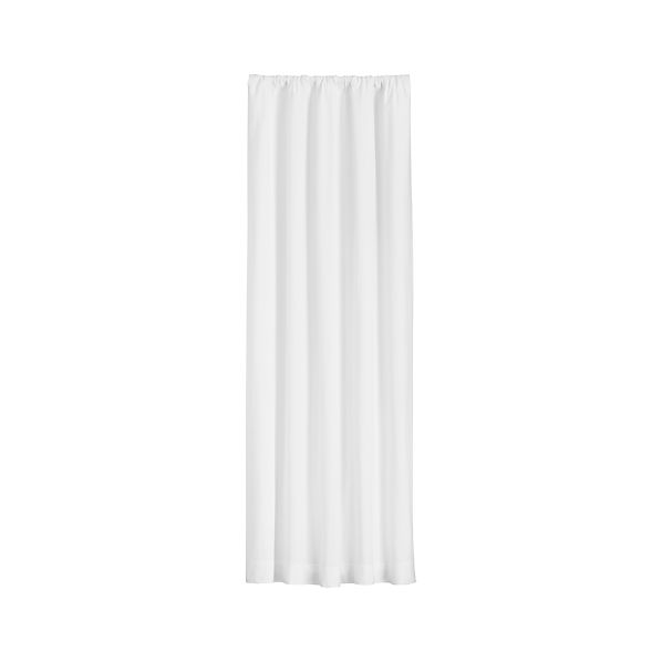 Wallace White Curtains | Crate and Barrel