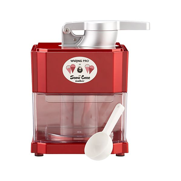 Waring® Red Metallic Snow Cone Maker