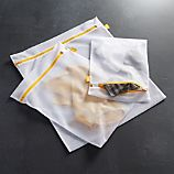 Yellow Washing Bags Set of Three