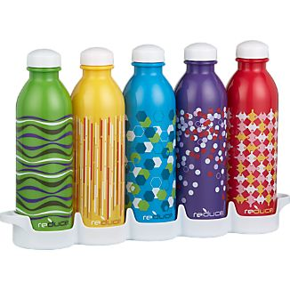 WaterWeek Water Bottles Set of Five
