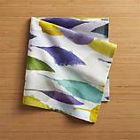 Watercolor Leaves Napkin