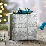 Watercolor Snowflake Gift Wrap