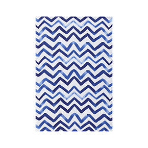 Watercolor Chevron Dishtowel